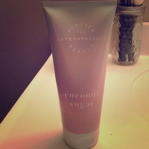 Anthropologie Coconut Sugar body cream